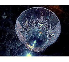 Carved glass Photographic Print
