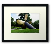 WWII Troopership Propeller Framed Print