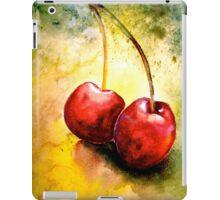Cherries..Two... iPad Case/Skin