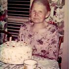 My Beloved Grandmother Celebrating a Birthday... by Carol Clifford