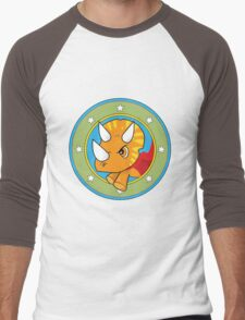 Wonder Triceratops! Limited Edition Design Men's Baseball ¾ T-Shirt