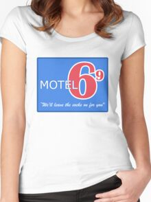 Motel 69 Women's Fitted Scoop T-Shirt
