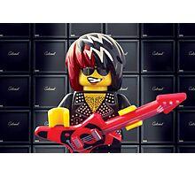 Hair Guitar Photographic Print