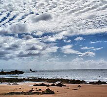 Clouds off Penguin Beach by Antonia Newall