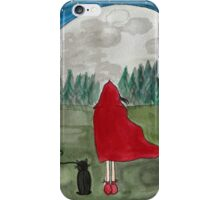 Lunamoon in Red  iPhone Case/Skin