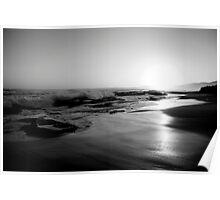 Johanna Beach Sunset VII Poster