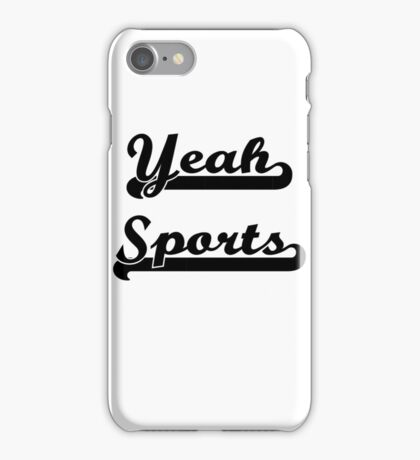 Yeah Sports! iPhone Case/Skin