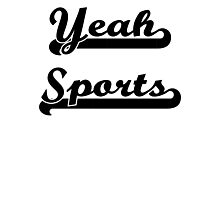 Yeah Sports! Photographic Print