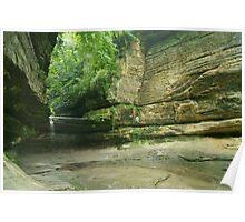 LaSalle Canyon Waterfall Poster