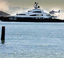 Yacht Ahoy Mate by Errol Nevalasca