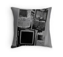 Blackberry Art Throw Pillow