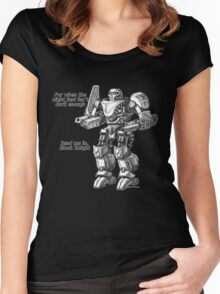 black knight Women's Fitted Scoop T-Shirt