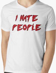 I Hate People! Mens V-Neck T-Shirt