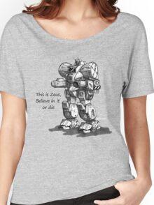 zeus Women's Relaxed Fit T-Shirt