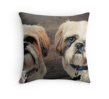 Lola & Harry Throw Pillow