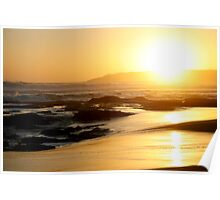 Johanna Beach Sunset XI Poster