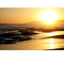 Johanna Beach Sunset XI Photographic Print