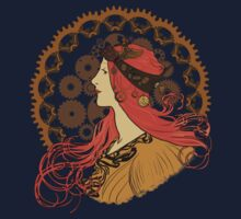 Steampunk Zodiac (Mucha Homage) One Piece - Long Sleeve