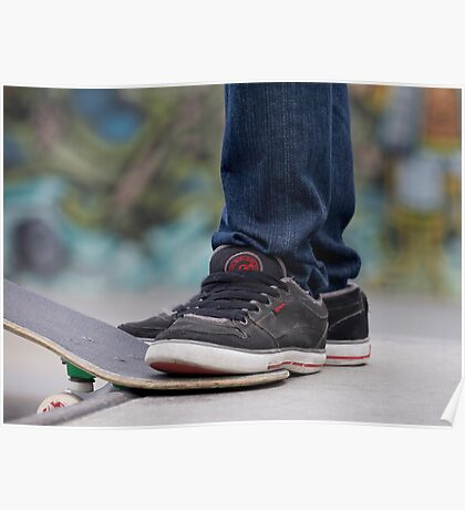 Feet with Attitude Poster