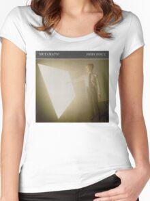 JOHN FOXX - METAMATIC Women's Fitted Scoop T-Shirt