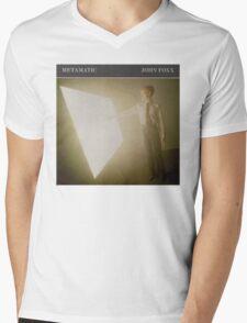 JOHN FOXX - METAMATIC Mens V-Neck T-Shirt
