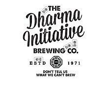 LOST Dharma Initiative Brewing Company Photographic Print