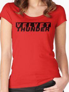 CODENAME: VELVET THUNDER Women's Fitted Scoop T-Shirt