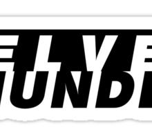 CODENAME: VELVET THUNDER Sticker