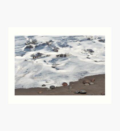 Sea Over Land Art Print