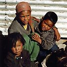Village Children, Nepal by Harry Oldmeadow