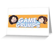 New Game Grumps Logo Greeting Card