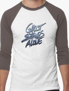Ghost stands alone Men's Baseball ¾ T-Shirt