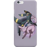Umbreon and Espeon iPhone Case/Skin