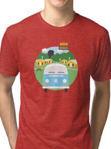Dharma Barracks Tri-blend T-Shirt