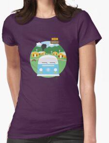 Dharma Barracks Womens Fitted T-Shirt