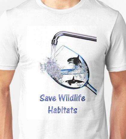 Save Wildlife Habitats Unisex T-Shirt
