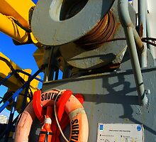 Southern Surveyor - Life Ring and Winch by NickPhilippa