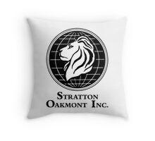 The Wolf of Wall Street Stratton Oakmont Inc. Scorsese Throw Pillow