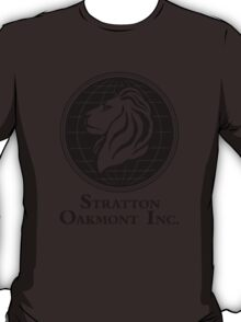 The Wolf of Wall Street Stratton Oakmont Inc. Scorsese T-Shirt