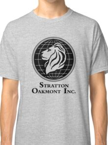 The Wolf of Wall Street Stratton Oakmont Inc. Scorsese Classic T-Shirt