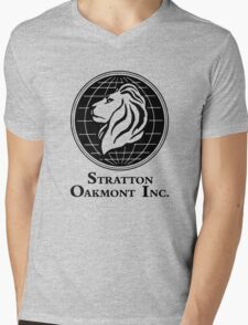 The Wolf of Wall Street Stratton Oakmont Inc. Scorsese Mens V-Neck T-Shirt