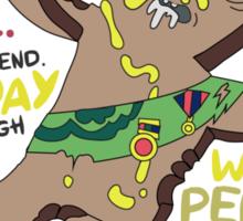 Adventure Time Royal Tart Toter Sticker
