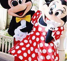 Mickey and Minnie by disneylifelover