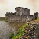 Caerphilly Castle by Peter Hammer
