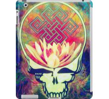 The Music Never Stops - Design 2 iPad Case/Skin
