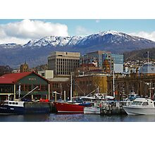 Winter Afternoon - Hobart Photographic Print
