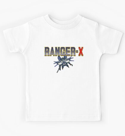 Ranger X - SEGA Genesis Title Screen Kids Tee