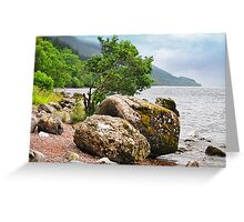 On the shores of Loch Ness Greeting Card
