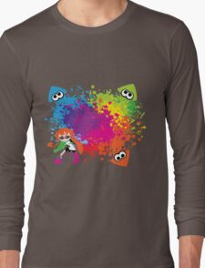 Splatoon - Ink Burst Long Sleeve T-Shirt