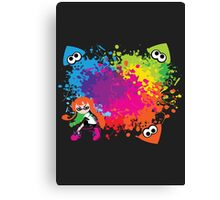 Splatoon - Ink Burst Canvas Print